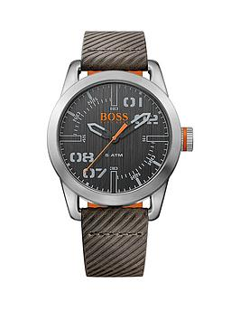 hugo-boss-hugo-boss-oslo-casual-black-dial-grey-strap-strap-mens-watch