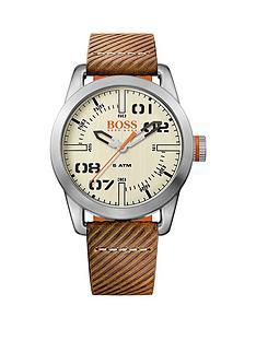 hugo-boss-hugo-boss-oslo-casual-cream-dial-brown-strap-mens-watch