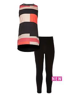 river-island-girls-black-colour-block-top-and-leggings-set