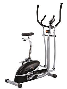 V-Fit 2-in-1 Cycle and Elliptical Cross Trainer