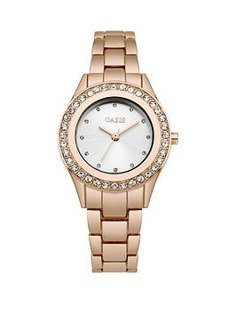 oasis-white-sunray-dial-stone-set-bezel-rose-gold-tone-metal-bracelet-ladies-watch