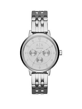 armani-exchange-payton-silver-tone-multi-dial-stainless-steel-bracelet-ladies-watch