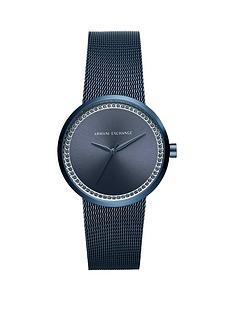 armani-exchange-liv-blue-dial-blue-mesh-bracelet-ladies-watch