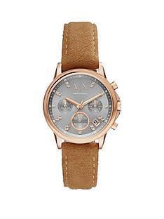 armani-exchange-lady-banks-grey-tone-dial-rose-tone-case-brown-strap-ladies-watch