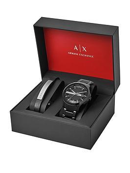 armani-exchange-armani-exchange-hampton-black-dial-black-stainless-steel-watch-amp-bracelet-mens-gift-set