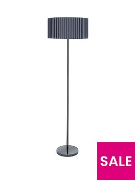 box-pleat-floor-lamp