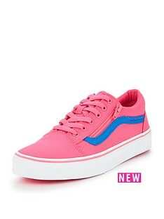 vans-vans-old-skool-zip-neon-canvas-children