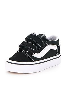 39b5273d8600 Vans Old Skool Infant Trainer - Black