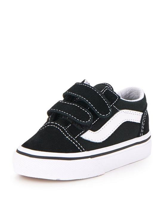 cea6c4e223 Vans Old Skool Infant Trainer - Black