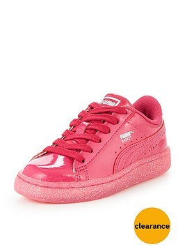 puma-basket-patent-iced-glitter-children