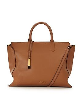 calvin-klein-large-leather-tote-bag