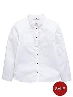 v-by-very-girls-white-military-shirt