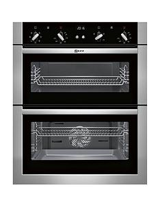 neff-u17m42n5gb-built-under-electric-double-oven-stainless-steel