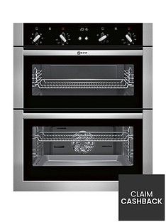 neff-u17m42n5gb-built-under-electric-double-oven-with-circothermregnbsp--stainless-steel
