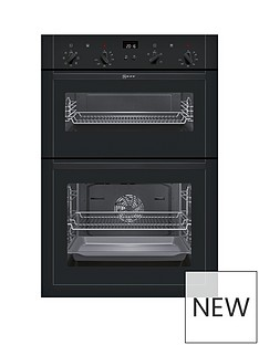 neff-u14m42s5gb-built-in-electric-double-oven-black