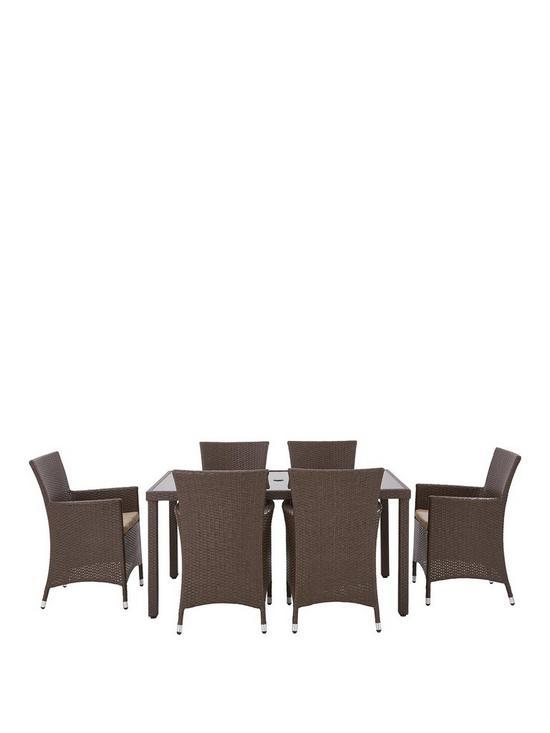 Monte Carlo 7 Piece Dining Set
