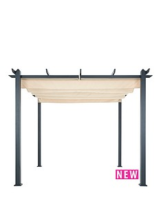 3x3m-aluminium-gazebo-with-adjustable-cream-canopy