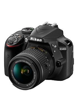 nikon-d3400-dslr-camera-with-af-p-18-55mm-vr-lensnbspsave-pound50-with-voucher-code-mjxaw