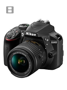 nikon-d3400-dslr-camera-with-af-p-18-55mm-lensnbspsave-pound50-with-voucher-code-mjxaw