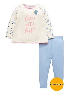 ladybird-baby-girls-floral-slogan-sweat-top-and-leggings-set