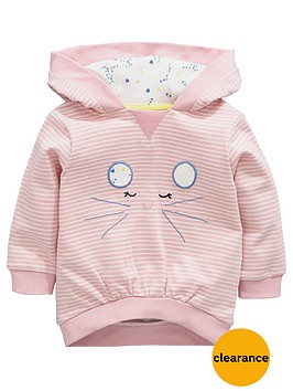 ladybird-baby-girls-stripe-mouse-hoodie