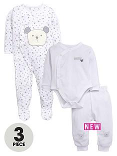 ladybird-baby-unisex-3pc-baby-bear-bodysuit-sleepsuit-and-jogger-set