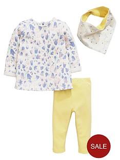ladybird-baby-girls-floral-tunic-bib-and-leggings-set