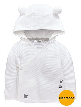ladybird-baby-unisex-bear-hooded-wrap-cardigan
