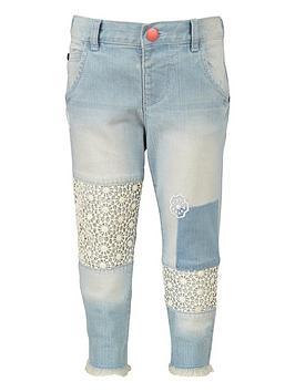 mini-v-by-very-girls-crochet-patchwork-jeans