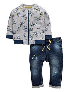 ladybird-baby-boys-robot-bomber-jacket-and-jeans-set