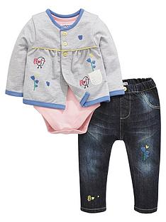 ladybird-baby-girls-chick-cardigan-bodysuit-and-jeans-set
