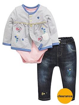 ladybird-baby-girls-chick-cardigan-bodysuit-and-jeans-set