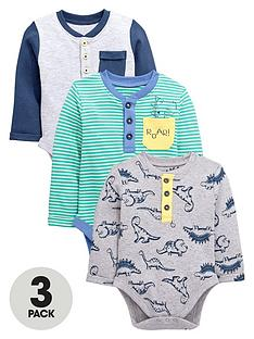 ladybird-baby-boys-long-sleeve-bodysuits-3-pack