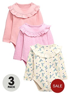 ladybird-baby-girls-long-sleeve-bodysuits-3-pack