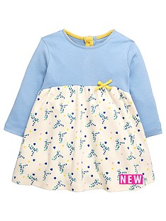 ladybird-baby-girls-long-sleeve-floral-interlock-dress