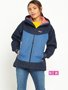 jack-wolfskin-north-ridge-waterproof-jacket-navy