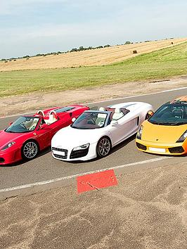 virgin-experience-days-fathers-day-four-supercar-blast