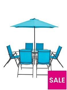 hawaii-8-piece-dining-set-turquoise