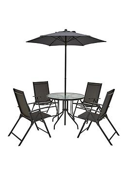 cuba-6-piece-garden-furniture-set-gunmetal-grey