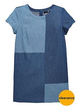 v-by-very-girls-patchwork-denim-dress