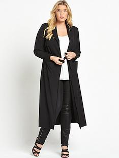 so-fabulous-curve-crepe-longline-duster