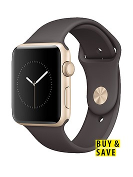 apple-watch-series-1-42mm-gold-aluminium-case-with-cocoa-sport-band