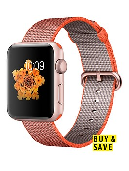 apple-watch-series-2-42mm-rose-gold-aluminium-case-with-orangeanthracite-woven-nylon-band