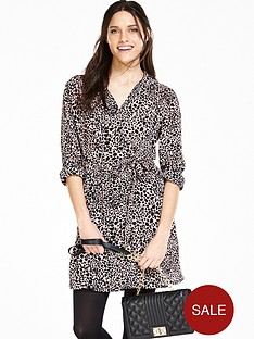 v-by-very-animal-print-shirt-dress
