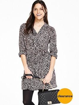 v-by-very-animal-print-shirt-dress