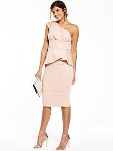 v-by-very-premium-satin-one-shoulder-dress-nudepink