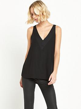 river-island-strap-back-cami-black