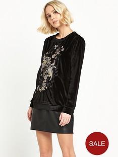 river-island-velvet-embroiderednbspsweat-top-black