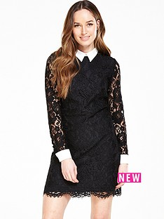 v-by-very-lace-collared-shift-dress