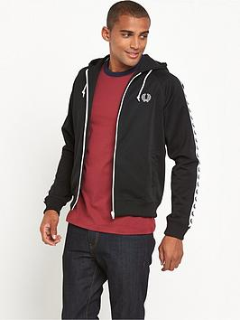 fred-perry-fred-perry-sports-authentic-taped-hooded-track-jacket